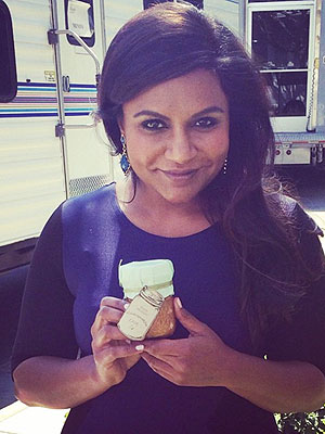 Mindy Kaling with Zac Posen's Jam Recipe