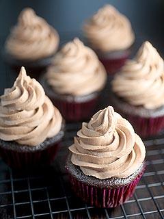 Bakerella Chocolate Hazelnut Cupcakes