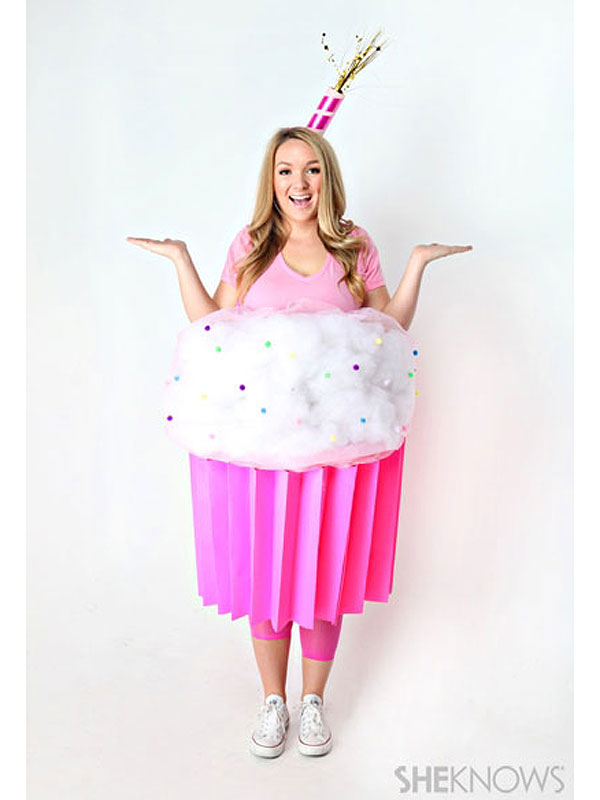 cupcake - Halloween Food Costume