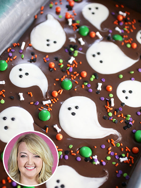 Bakerella's Halloween Chocolate Bark