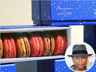 Pharrell Williams Releases Limited Edition Peanut Butter and Cola Macarons | Pharrell Williams