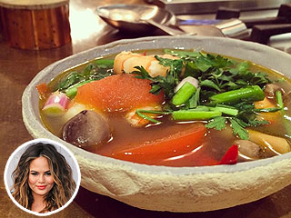 Chrissy Teigen on Her Tom Yom Soup: 'Thank God You Can't Taste Instagram' (PHOTOS)