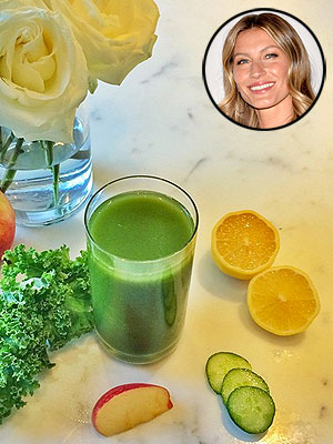 Gisele Bundchen Smoothie