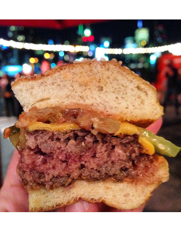 NYCWFF burger