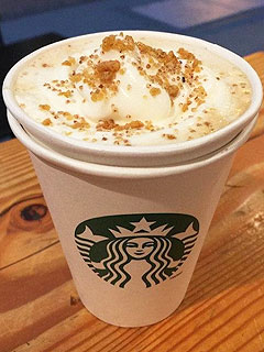 Starbucks Chestnut Latte