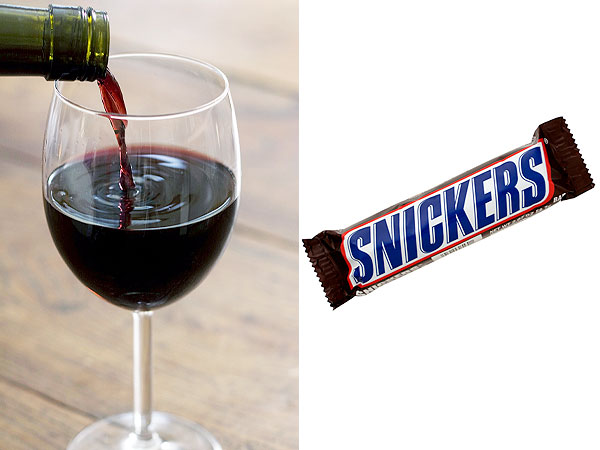 Wine Snickers