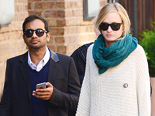 Aziz Ansari and Girlfriend Courtney McBroom Team Up on a Pop-Up Restaurant