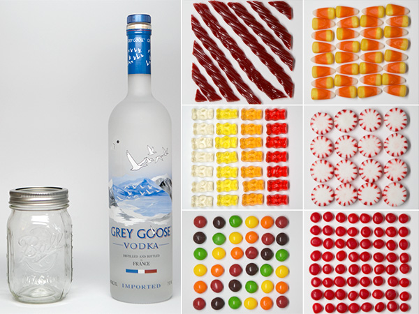 Candy Infused Vodka