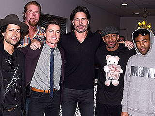 With Stripper Scenes Wrapped, the Magic Mike XXL Cast Feasts on Food in Savannah