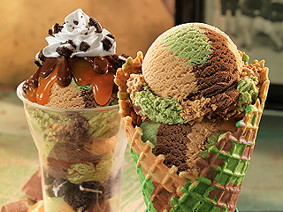 Can You Guess the Flavors in Baskin-Robbins's Camouflage Ice Cream?