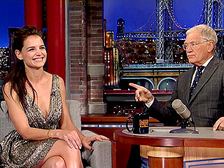 Katie Holmes Is Cooking Her First Thanksgiving Turkey – with David Letterman's Help | Katie Holmes