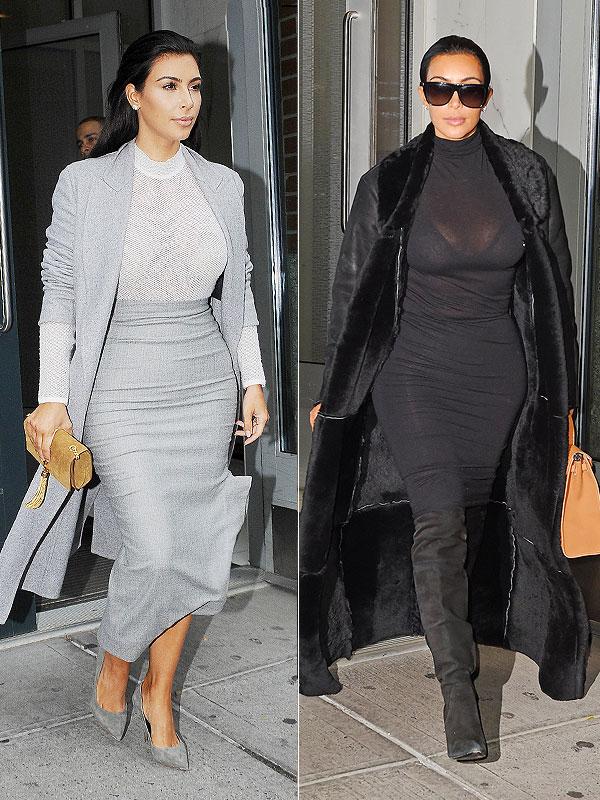 PHOTOS Kim Kardashians Luxurious Coat Collection Style
