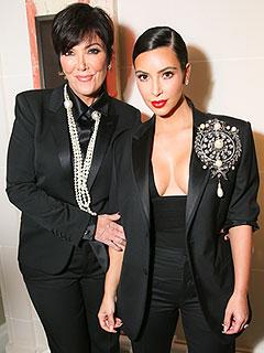 Kim Kardashian Kris Jenner