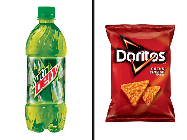 Mountain Dew Doritos