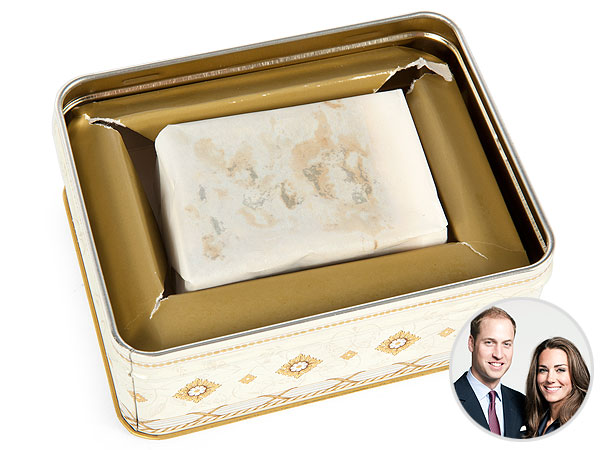 Prince William Princess Kate Wedding Cake Up For Auction