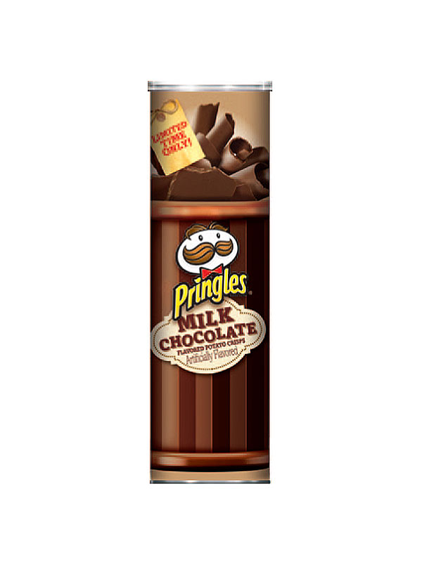 pringles milk chocolate chips holiday flavor