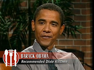 Throwback Thursday: Watch a Young Obama Review a 'Great Value' Restaurant | Barack Obama