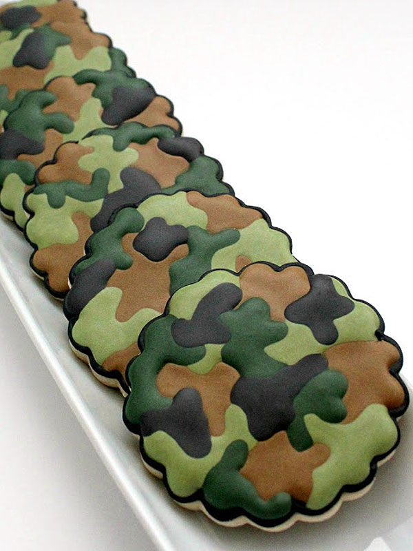Recipes Camouflage Desserts Camouflage Cake Cookies Ice Cream