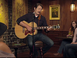 Watch Parks and Recreation's Nick Offerman Sing Lovingly About Whiskey | Nick Offerman