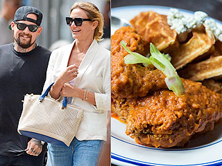 Cameron Diaz and Benji Madden Feast on Chicken and Waffles in N.Y.C. | Cameron Diaz