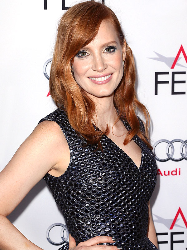 Jessica Chastain Talks Mom Vegan Food Truck Ellen