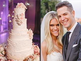 See Lauren Scruggs and Jason Kennedy's Wedding and Groom's Cakes (PHOTOS)