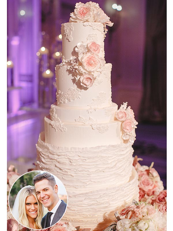 See Lauren Scruggs and Jason Kennedy's Wedding and Groom's Cakes
