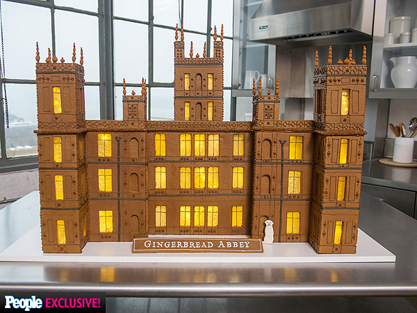 Downton Abbey Gingerbread House