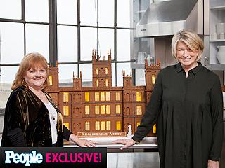 It's Gingerbread Abbey! See Martha Stewart's Spectacular Downton Cookie Creation (PHOTOS) | Martha Stewart