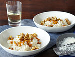 Lorena Garcia yam risotto with walnuts