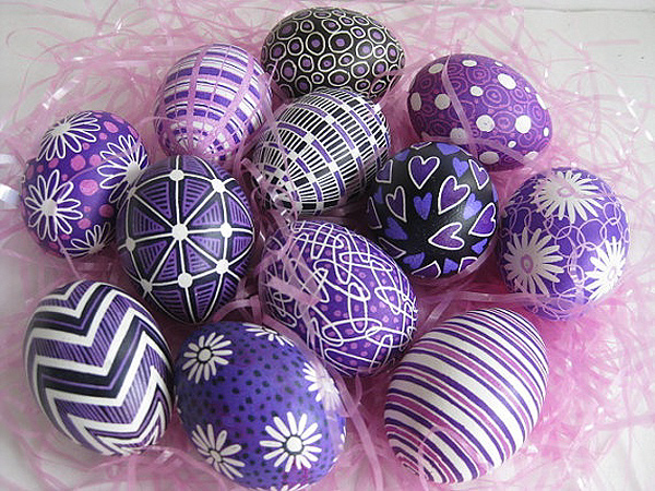 25 Easter Egg Decorating Ideas Amp Creative Designs People Com