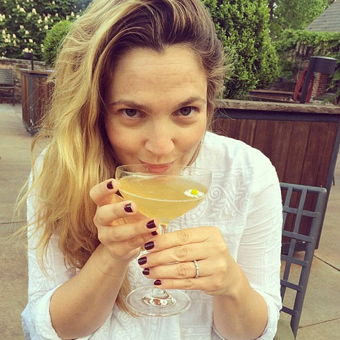 Drew Barrymore's Cocktail
