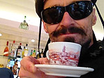 Tweet & Eat! Here's What Your Favorite Stars Are Eating & Drinking Right Now | Hugh Jackman