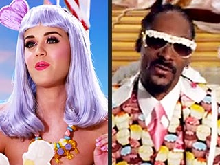12 Greatest Food Moments in Music Videos | Katy Perry, Snoop Dogg