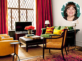 Peek Inside the Houses of Food Network Stars | Ina Garten