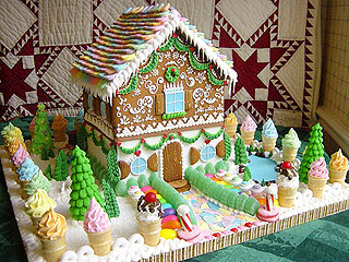 We Wish We Could Live Inside These Insane Gingerbread Houses