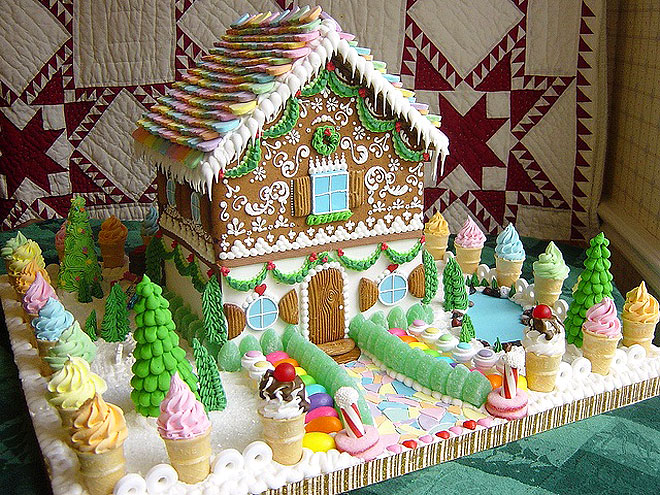 Photo special 16 insane gingerbread houses we wish we could live in