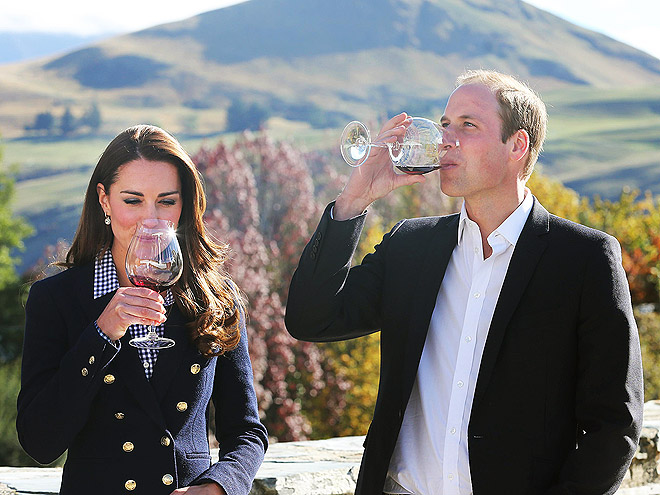 William and Kate's Most Delicious Moments Down Under