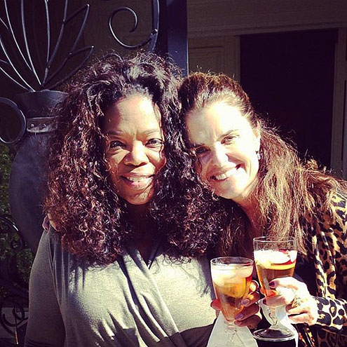 OPRAH photo | Maria Shriver, Oprah Winfrey
