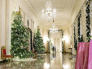 Winter Wonderland! The White House Is Dressed Up for the Holidays