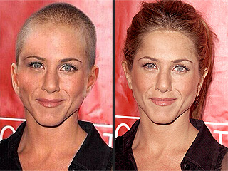 Proof Jennifer Aniston Didn't Shave Her Head