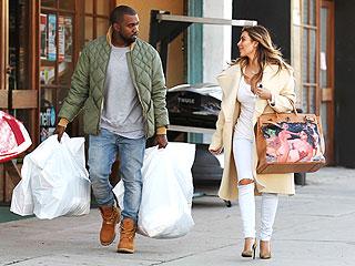 See Kanye's Gift to Kim: A Risqué Hand-painted Birkin | Kanye West, Kim Kardashian