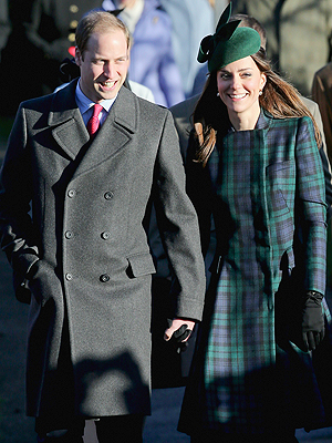 Kate Kisses the Queen at Christmas Morning Service