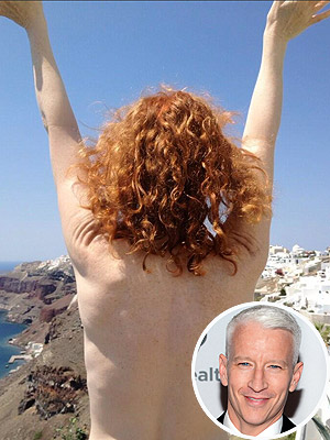 Kathy Griffin Threatens to Ring in the New Year Topless with Anderson Cooper
