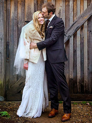 Claire Coffee of Grimm Weds Musician Chris Thile