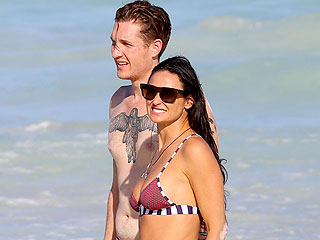 Demi Moore Makes a Splash with New (Younger!) Guy