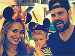 PHOTO: Hilary Duff Takes Luca to Disneyland
