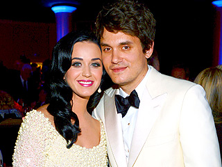 How Katy Perry and John Mayer Rang in the New Year in Vegas