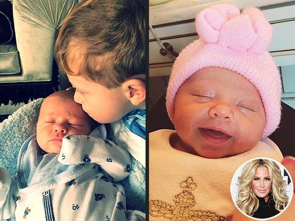 Kim Zolciak Introduces Twins Kane and Kaia
