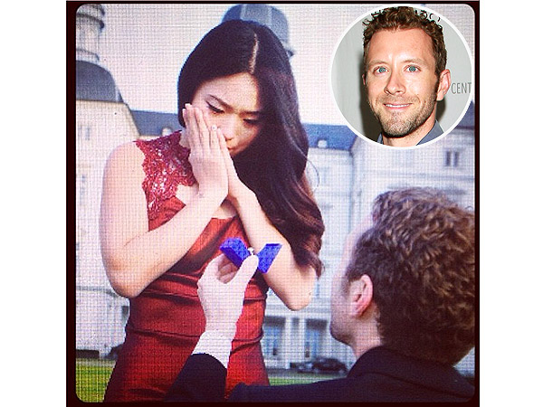 TJ Thyne Engaged to Leah Park